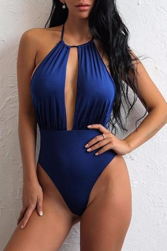 Peena Halter Neck Swimsuit