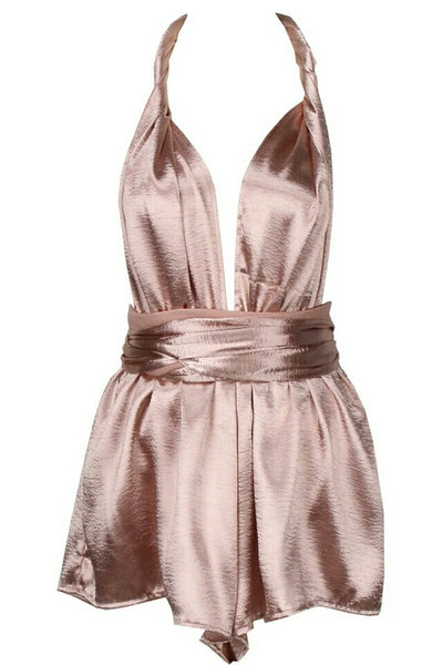 Leslie Pale Pink Multiway Playsuit