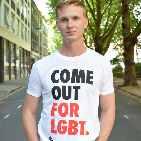 Come Out for LGBT. t-shirt