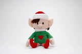 Christmas Girl Elf toy with velcro hands and poseable arms