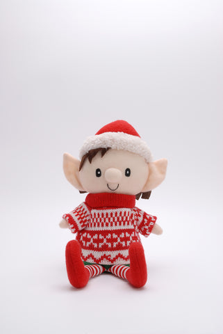 Elf Christmas Knit Jumper