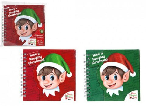 Christmas Elf Notebook
