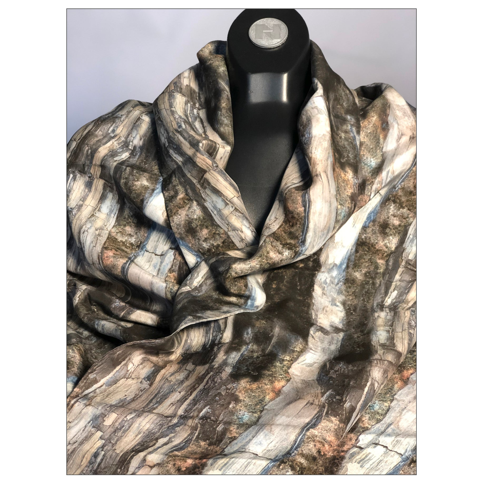 """Dream Forest"" Double Layer Silk Wrap"