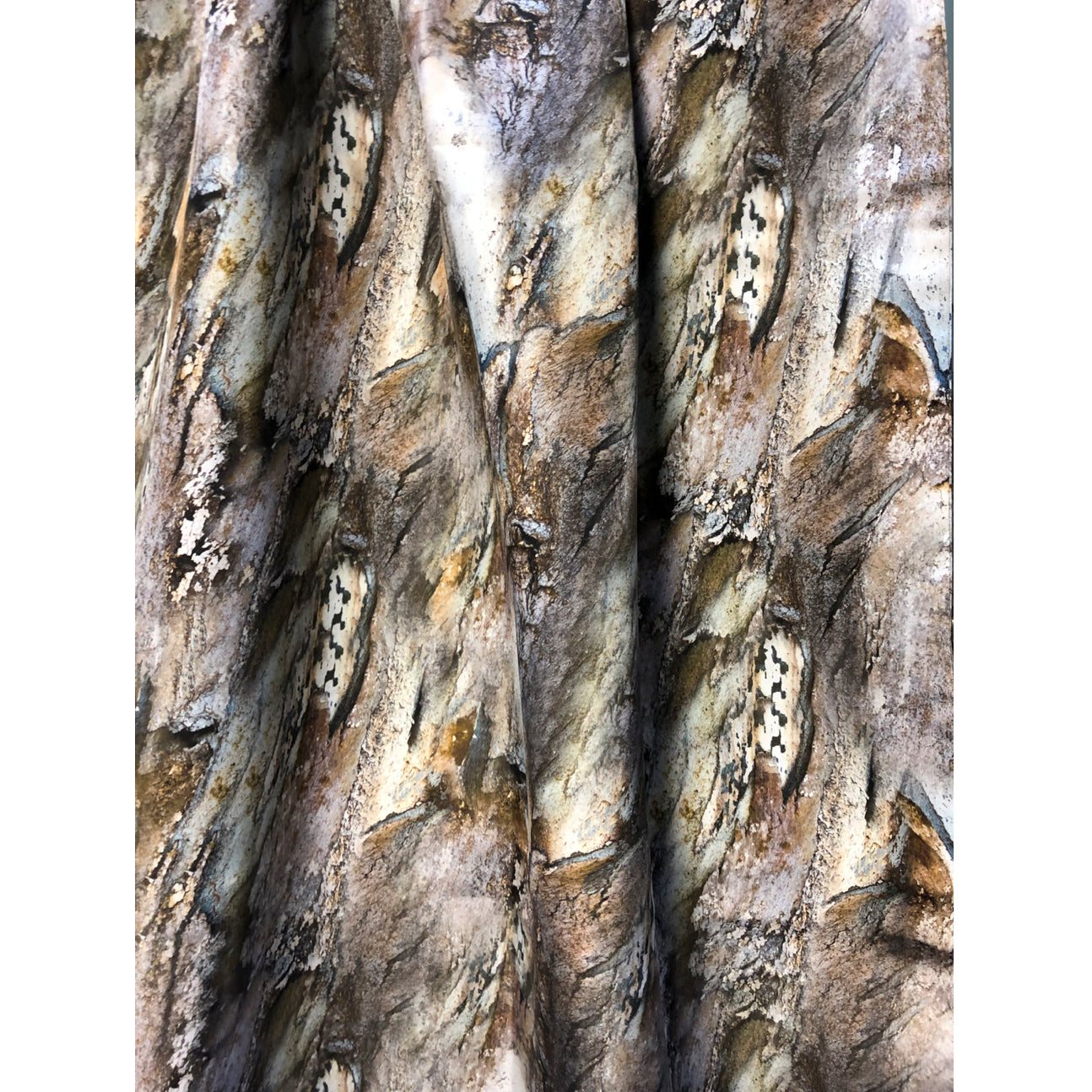 """Flowing Trees"" Double Layer Silk Wrap"