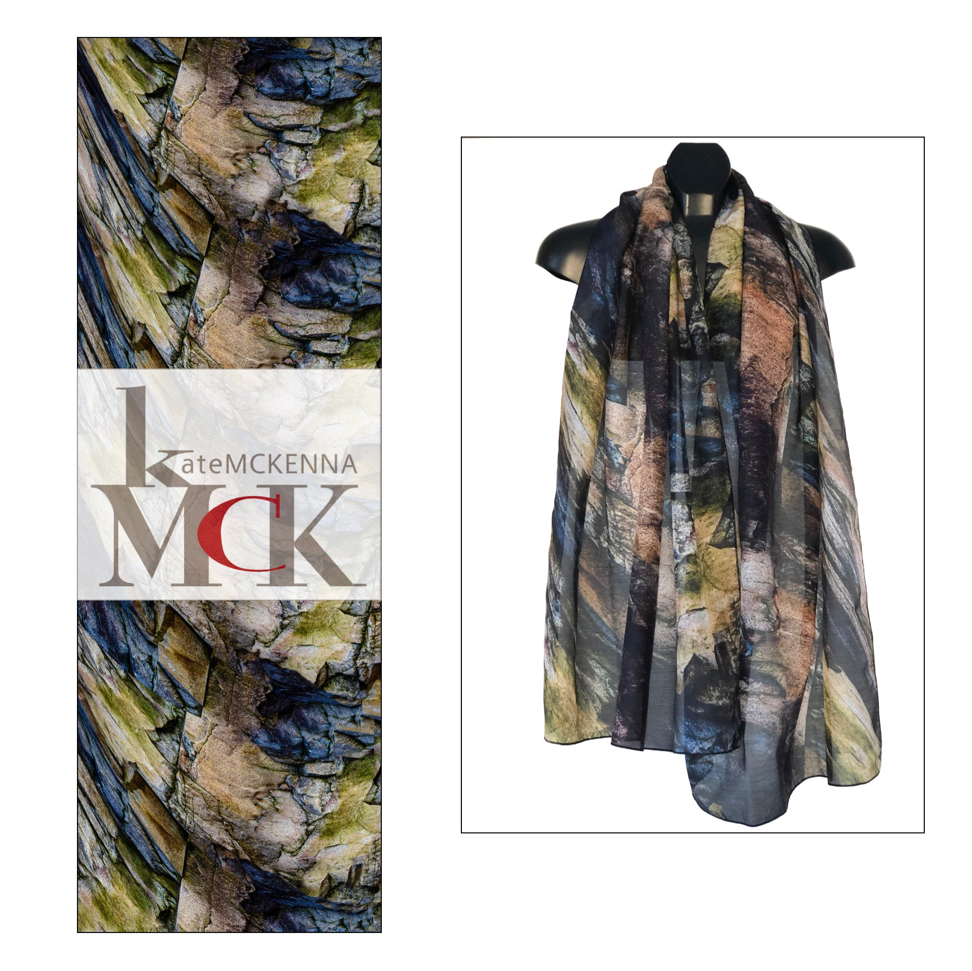 """Regal Wrap"" Cotton/Silk Voile Wrap"