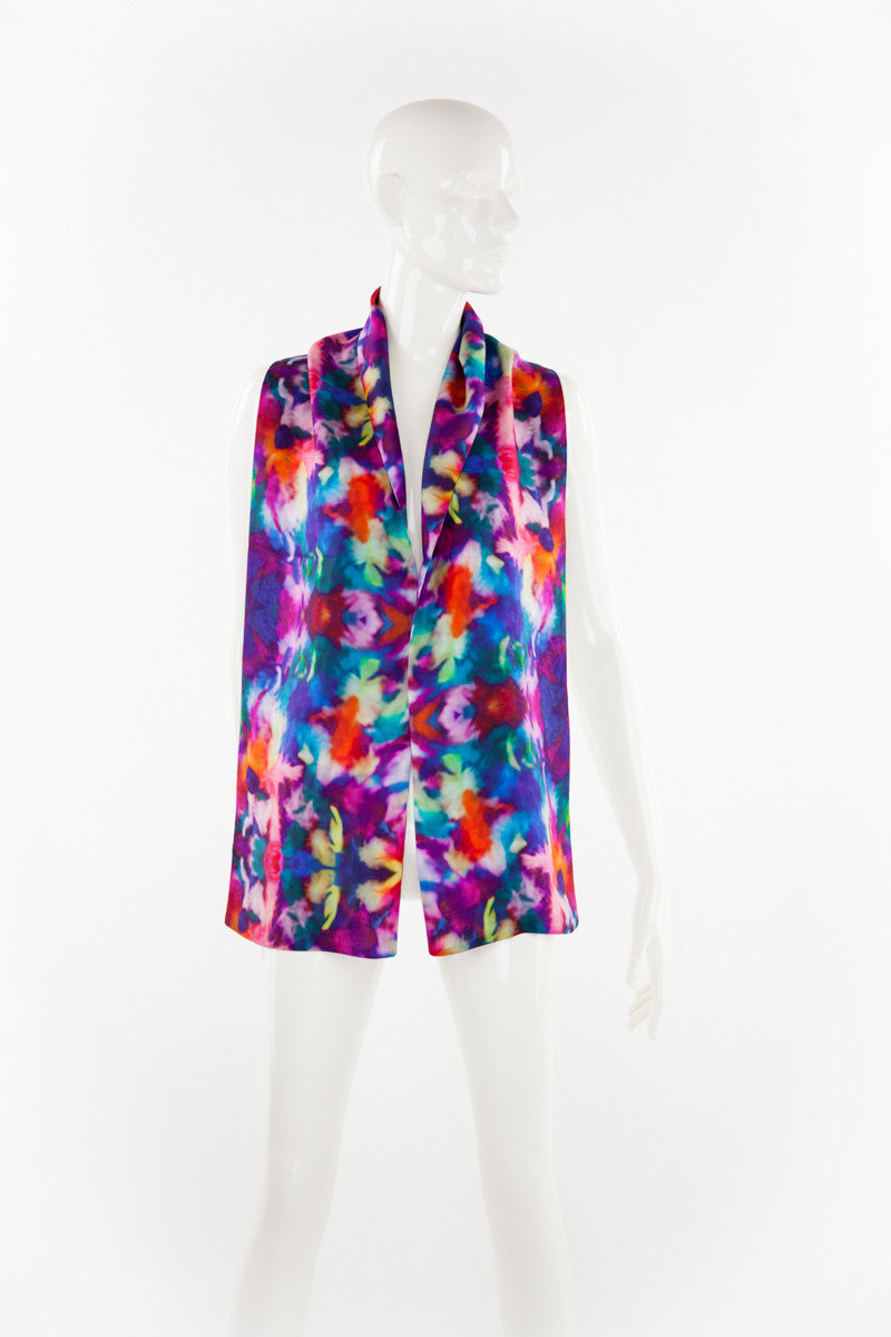 """Anado"" Double Layer Silk Scarf"