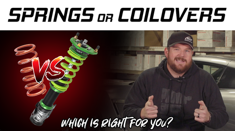 Lowering Springs vs Coilovers | Which Is Right For Your Build?