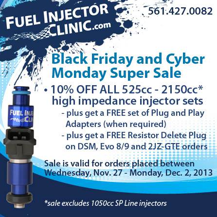 Fuel Injector Clinic Black Friday 2013 Sale