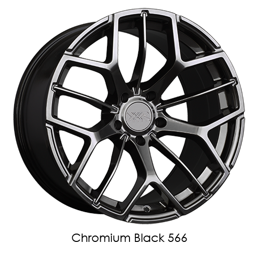 MAPerformance - XXR 566 Mach 5 Chromium Black