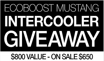 Ecoboot Mustang Intercooler Give away