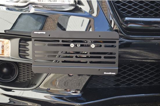 STi license plate relocation mount