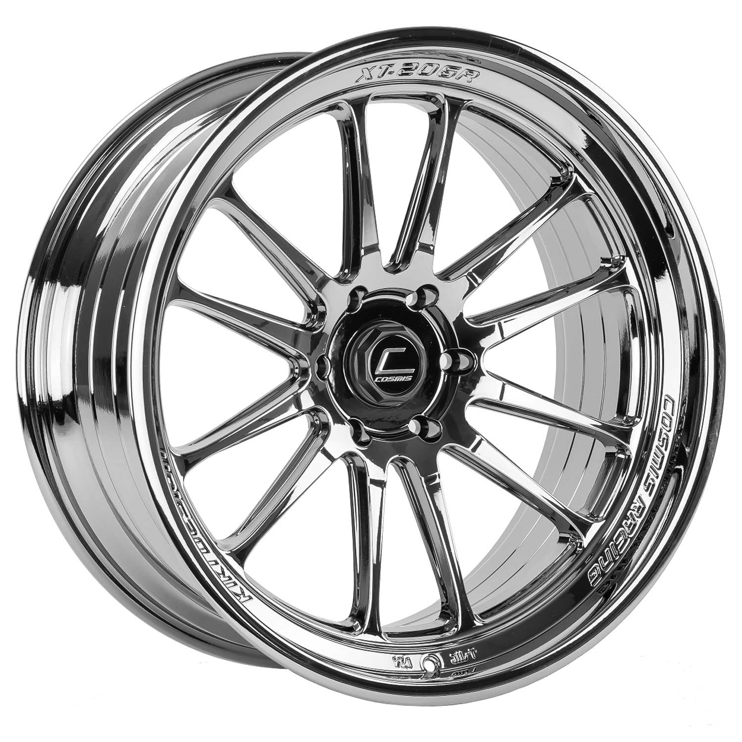 MAPerformance - Cosmis Racing XT-206R Black Chrome