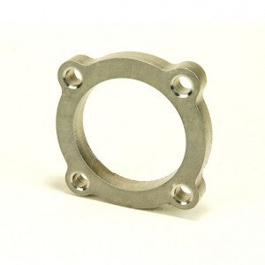 """2.5"""" 4 Bolt Turbo Discharge Flange 304 Stainless Steel"""