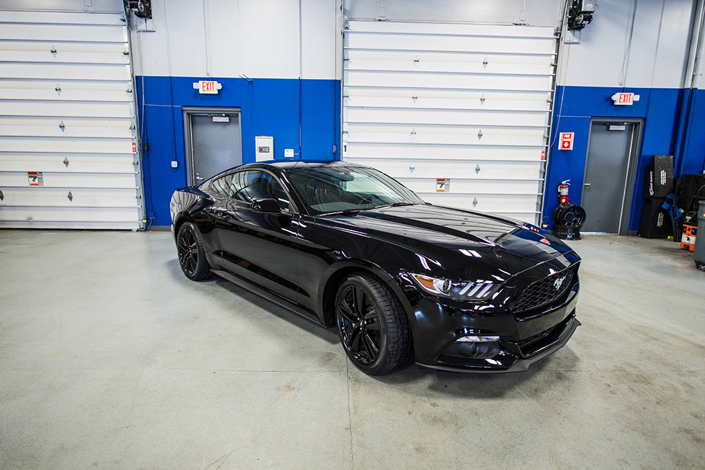 stock ecoboost mustang dyno