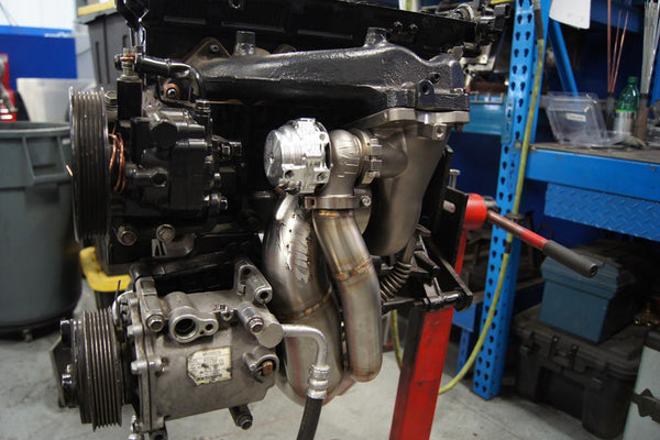 Click to buy the MAP O2 Eliminator Downpipe for FP Turbo's
