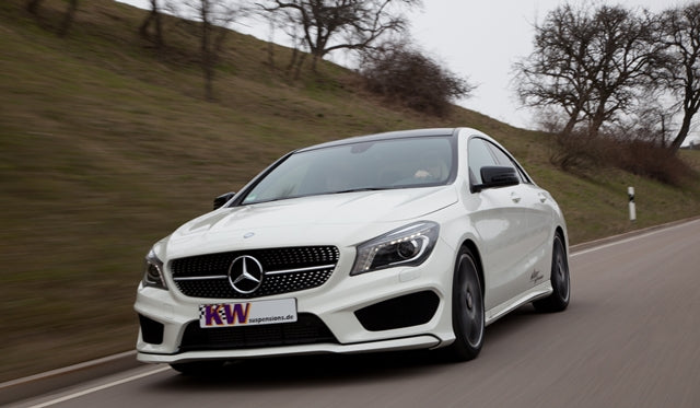 Mercedes CLA Lowering Springs & Coilovers