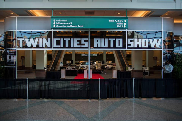 2014 twin cities auto show entry way