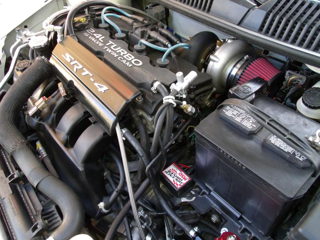 Big Turbo Srt4 Makes 450 Whp Remarkable Neon Srt 4 Customer Car Timing Belt Stock Motor With