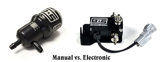 Manual vs Electronic Boost Controllers