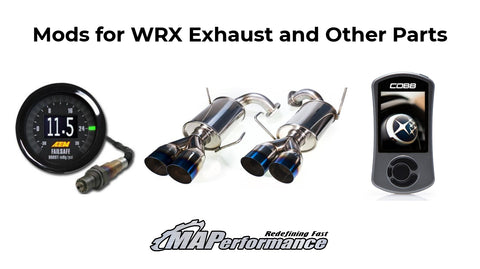 WRX Exhaust & Other Mods