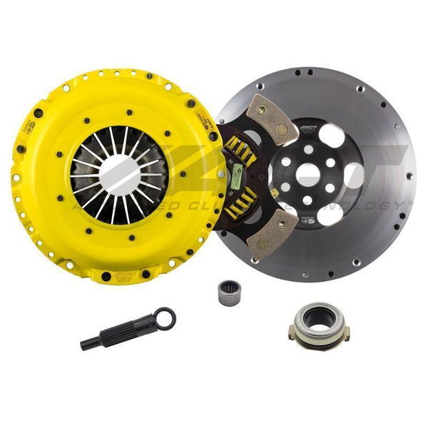 ACT XT/Race Sprung 4-Pad Clutch Kit | 07-13 Mazdaspeed3 / 06-07 Mazdaspeed6 (ZX4/5-XTG4)