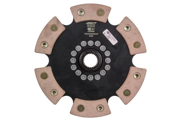 ACT 6-Pad Rigid Racing Clutch Disc | Multiple Honda/Acura Fitments (6214010A)