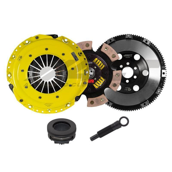 ACT Race Clutch Kit w/ 6-Pad Spring Centered Disc | 2006-2008 Audi A4 B7 2.0T (AA5-HDG6)
