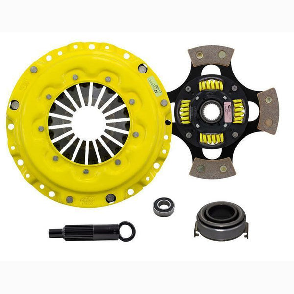 ACT MaXX Race Clutch Kit w/ Sprung 4-Pad Disc | 99-00 Honda Civic Si / 94-97 Del Sol VTEC & 94-01 Acura Integra (AI4-XXG4)