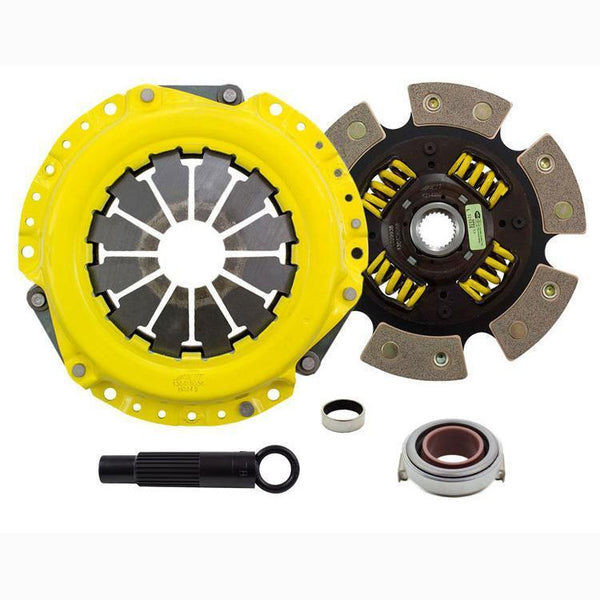 ACT Sport Race Clutch Kit w/ Sprung 6-Pad Disc | 02-11 Honda Civic Si & 02-06 Acura RSX / 04-08 TSX (AR1-SPG6)