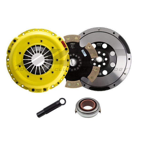 ACT HD Race Clutch Kit w/ Rigid 6-Pad Disc | 17-18 Honda Civic 1.5T / 17-19 Civic Si (HC10-HDR6)