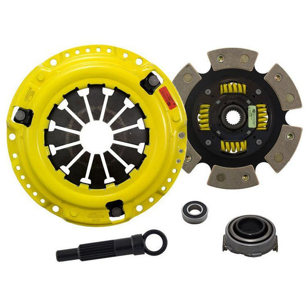 ACT HD Race Clutch Kit w/ Sprung 6-Pad Disc | 92-05 Honda Civic / 93-97 Del Sol & 97-05 Acura EL (HC5-HDG6)