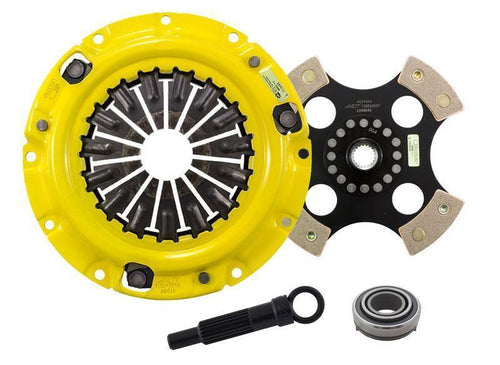 ACT HD Pressure Plate / 4 puck Solid Hub Disc Clutch Kit (Mitsubishi DSM)