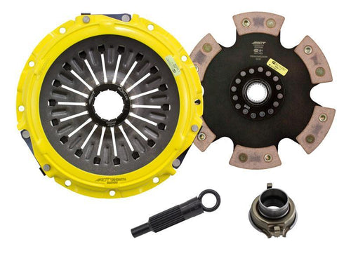 ACT Xtreme Duty 6 Puck Solid Disc Clutch Kit (Mitsubishi Evo 8/9) ME2-XTR6
