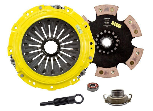 ACT Xtreme 6 Puck Solid Disc Clutch Kit | 2004-2020 Subaru STi (SB10-XTR6)