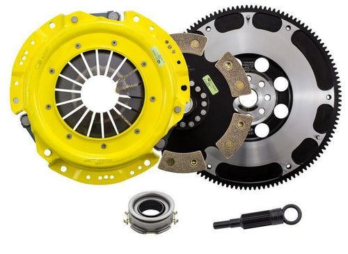 ACT 6-Pad Rigid HD Racing Clutch Kit w/Streetlite Flywheel | 2013-2020 BRZ/FR-S/86 (SB7-HDR6)