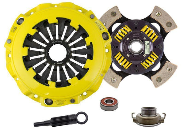 ACT 4-Pad Sprung Race Disc w/ HD Pressure Plate | Multiple Subaru Fitments (SB9-HDG4)