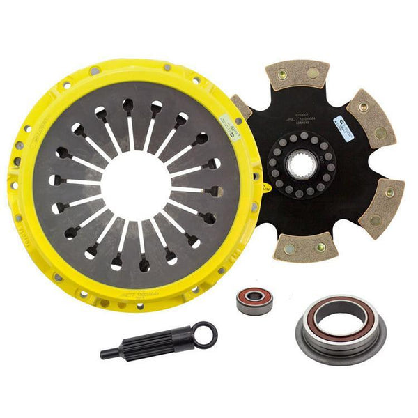 ACT HD Race Clutch Kit w/ Rigid 6-Pad Disc | 1987-1992 Toyota Supra 3.0L Turbo (TS2-HDR6)