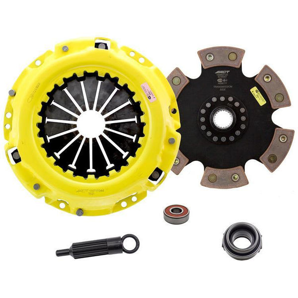 ACT HD Race Clutch Kit w/ Rigid 6-Pad Disc | 88-97 Toyota Supra / 92-97 Lexus SC300 3.0L Non-Turbo (TS3-HDR6)