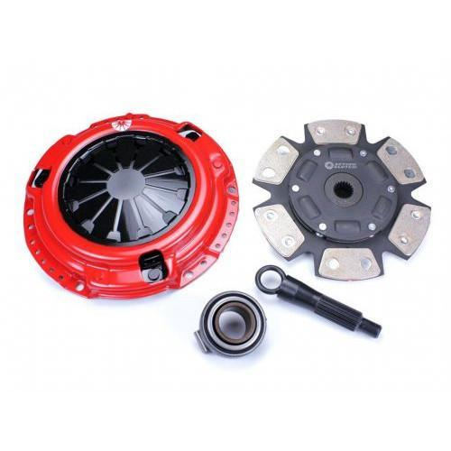 Action Clutch Stage 5 Iron Button 6-Puck Sprung Clutch Kit | 2001-2005 Honda Civic 1.7L (ACR-0648)