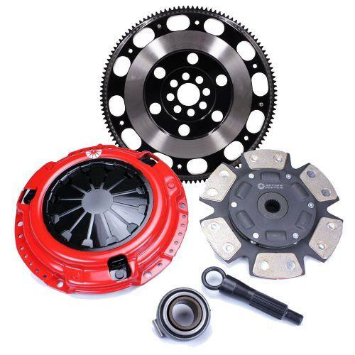 Action Clutch Stage 5 Iron Button 6-Puck Sprung Clutch Kit | 2012-2014 Honda Civic SI 6MT (ACR-0669)