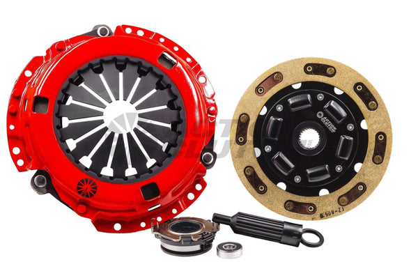 Action Clutch Stage 2 Kevlar Sprung Clutch Kit | 1992-2001 Honda Prelude 2.2L/2.3L (ACR-0730)