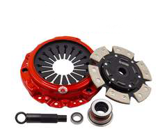 Action Clutch Stage 3 Metallic Sprung Clutch Kit | 2000-2009 Honda S2000 2.0L/2.2L (ACR-0738)
