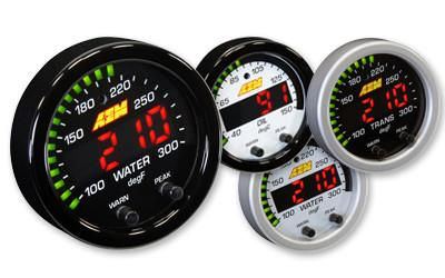 AEM Gauges X-Series Water/Trans/Oil Temperature Gauge (30-0302)