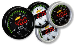 AEM Gauges X-Series 60PSI/4BAR Boost Pressure Display Gauge (30-0308)