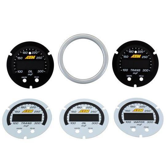 AEM X-Series Fluid Temp Gauge Accessory Kit (30-0302-ACC)