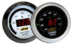 AEM Digital Boost Gauges -30-50 PSI (30-4408)