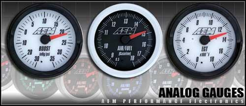 AEM Analog Voltage Gauge 30-5139 - Modern Automotive Performance