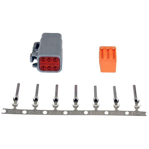 AEM DTM-Style 6-Way Plug Connector Kit (35-2627)