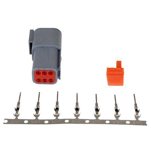 AEM DTM-Style 6-Way Receptacle Connector Kit (35-2628)