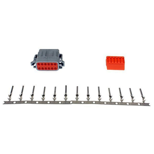 AEM DTM-Style 12-Way Plug Connector Kit (35-2633)